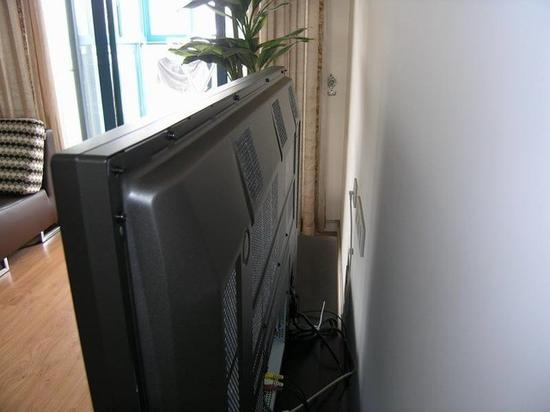 等离子电视的厚度明显