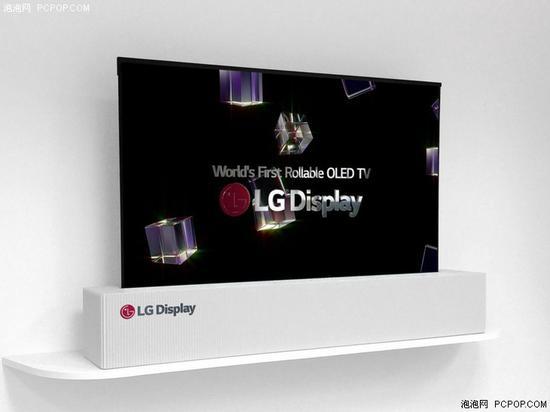 "LG 65英寸""卷轴""电视"