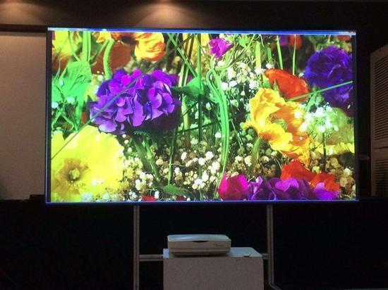 激光电视已经可以和传统液晶相媲美