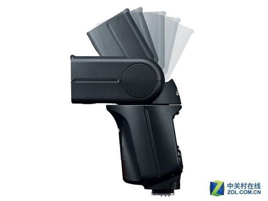 470EX-AI是第一款能自动根据距离判断旋转灯头角度进行跳闪的闪光灯