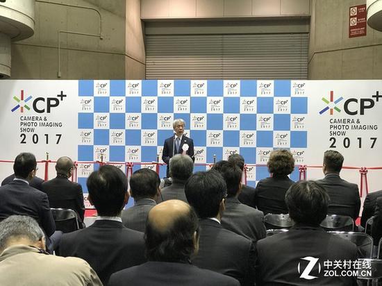 日本CP+展会(图片为2017年展会拍摄)