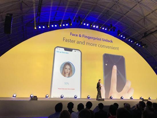 华硕[ASUS]ZenFone5/5Z人脸解锁