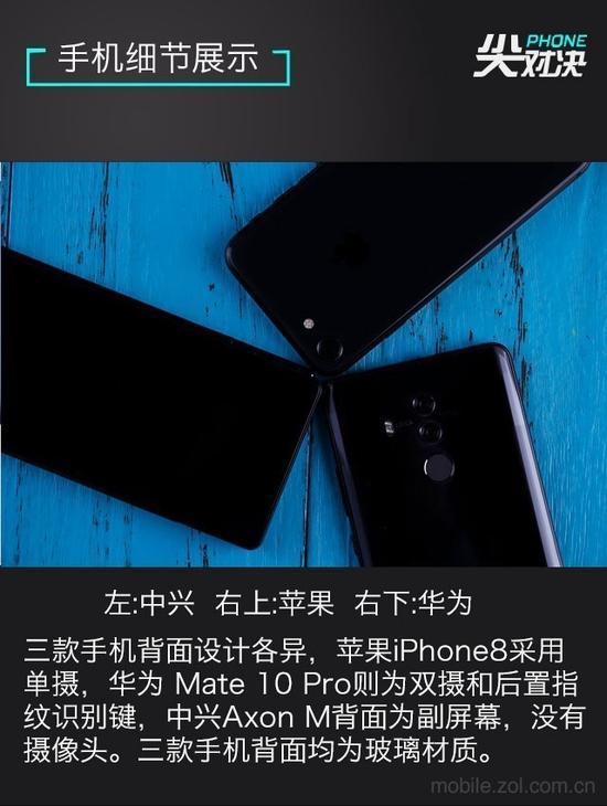 手机背面细节对比