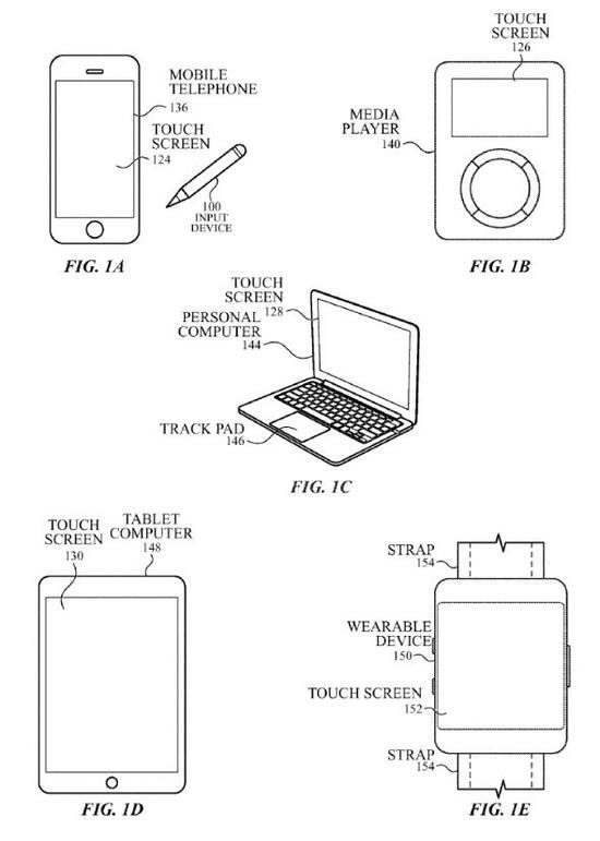 ApplePen未来有望在iPad、MacBookPro、iMac等苹果自家的设备使用