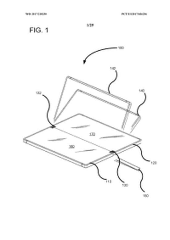 曝光的微软移动设备专利