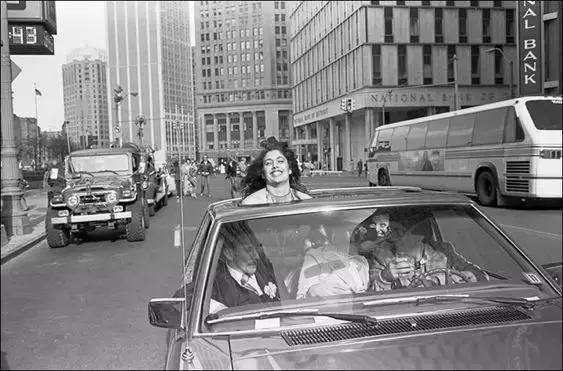 70年代的美国已经遍布汽车