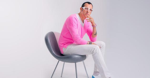 粉色是 Karim Rashid 的一贯人设
