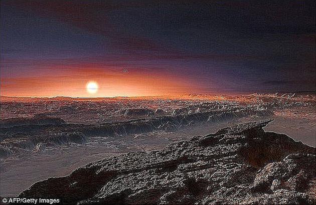 英国埃克塞特大学科学家们发现,比邻星B上面的气候可能适宜生命存在。