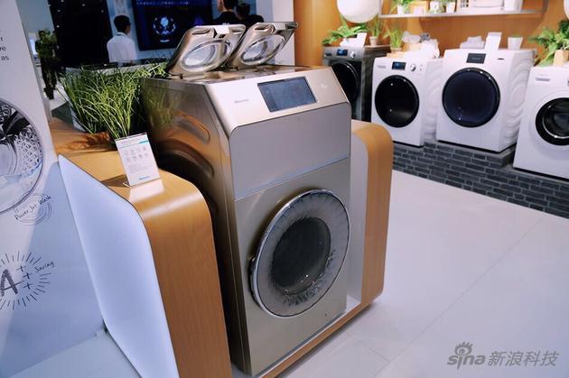 MISS IFA对海信三筒洗衣机称赞不绝