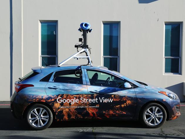 Google街景采集车
