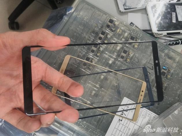 微博曝光金立M7前置面板