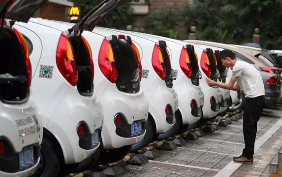 Gofun预计年底至少1000辆车投入运营。@视觉中国