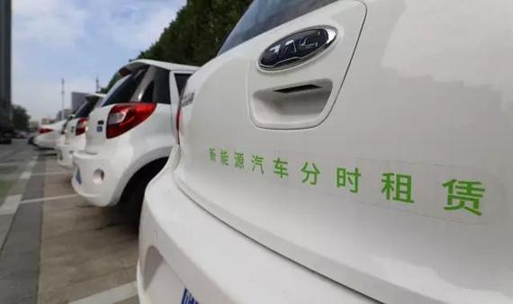 分时租赁接替P2P共享租车成了出行领域新的热门生意@视觉中国