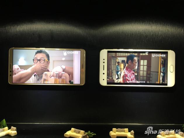 金立M7与非全面屏手机电影对比