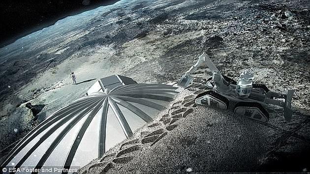 在今年召开的欧洲行星科学大会上,福英教授解释称,人类月球殖民的速度可能非常迅速。他将人类在月球上的扩张比作铁路的快速发展,当村庄周围出现火车站,随后将快速发展该地区的经济。
