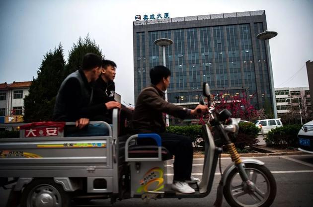 雄安新区筹备工作委员会在奥威大厦租下整栋楼作为办公地点。@视觉中国
