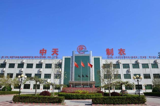 """容城县曾被称为""""中国服装名城""""。@视觉中国"""