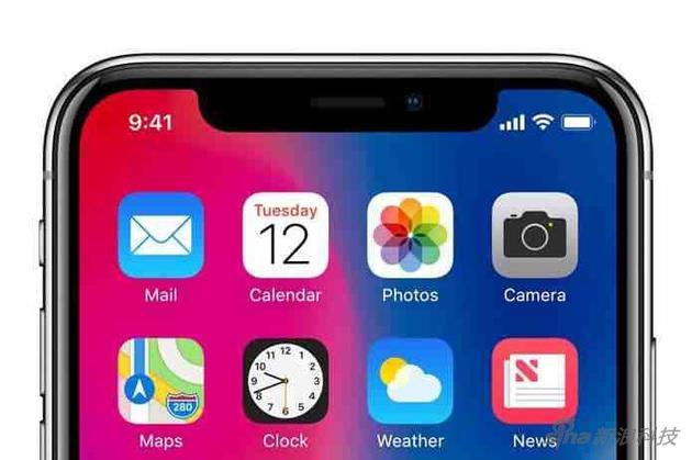 用于面部识别的原深感镜头 是iPhone X最有技术含量的部分
