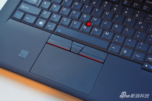 ThinkPad 25纪念机型触控板