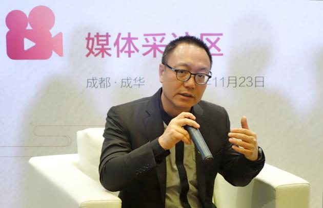 完美世界CEO萧泓接受新浪科技采访