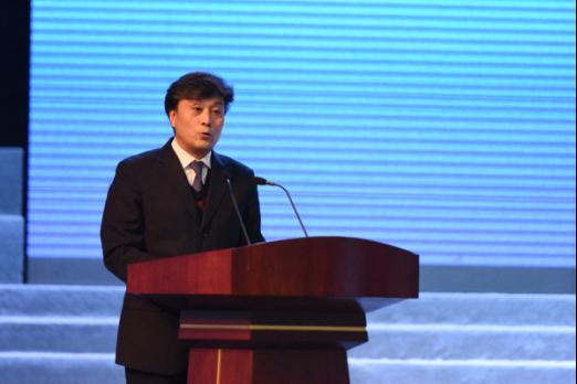 安徽省科学技术协会党组成员、副主席魏军锋致辞