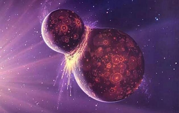 科学家最新一项研究表明,在月球碰撞形成之前,地球表面上一定存在着水资源。