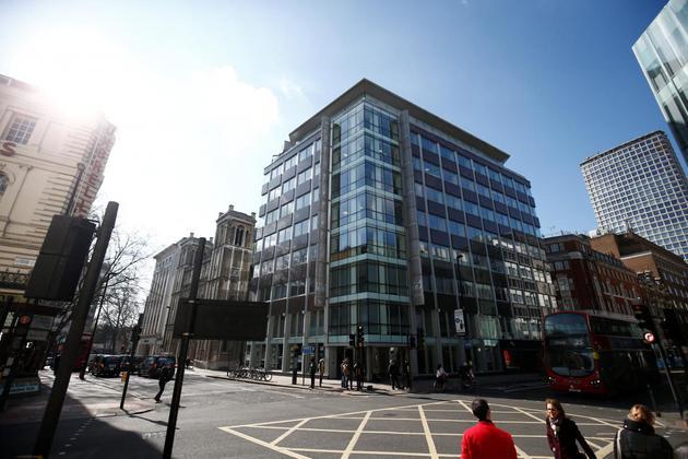 Cambridge Analytica位于伦敦的办公室