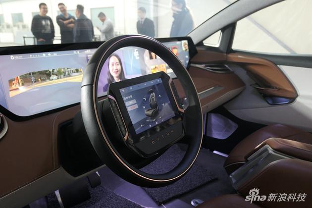 驾驶员9英寸触控显示盘