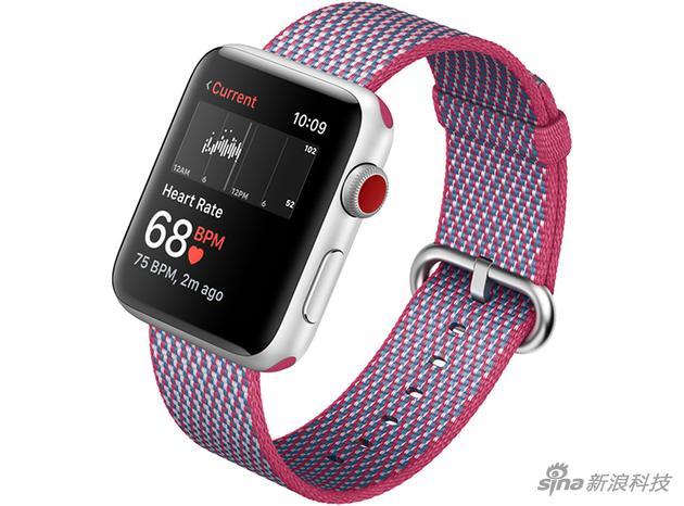 心率监测成了Apple Wtach 3代上的新功能