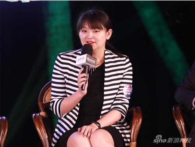 花点时间创始人兼CEO朱月怡