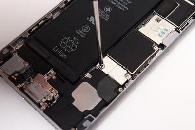 iPhone电池 网络图