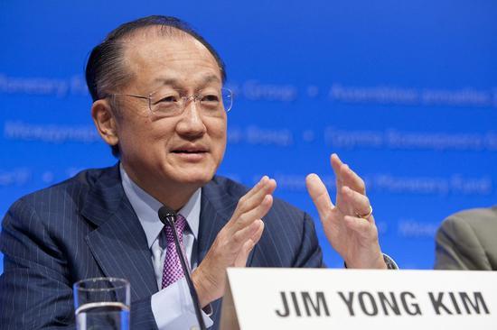 资料图:世界银行行长金墉