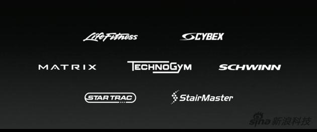 全球支持AppleGymKit的七大健身器械厂家