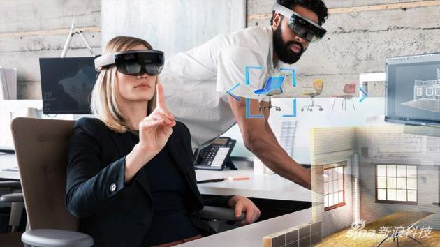 传微软正在研发新HoloLens头显