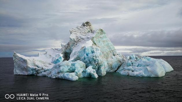 Mate 9 Pro拍摄的北极风光