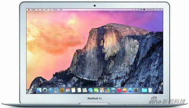 MacBook Air曾是苹果笔记本电脑的代表作 如今已经是边缘产品