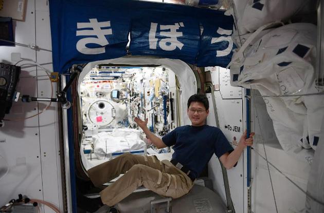日本宇航员金井宣茂
