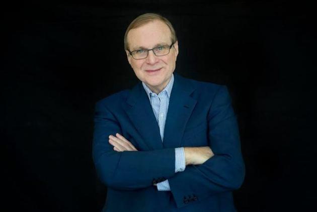 微软联合创始人保罗・艾伦(Paul Allen)