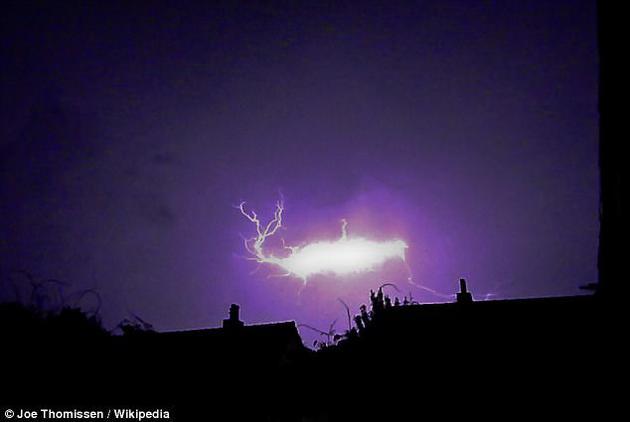 球形闪电中出现的诡异闪光终于得到了科学解释