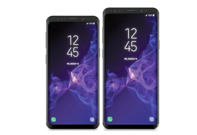 三星S9最新曝光的渲染图