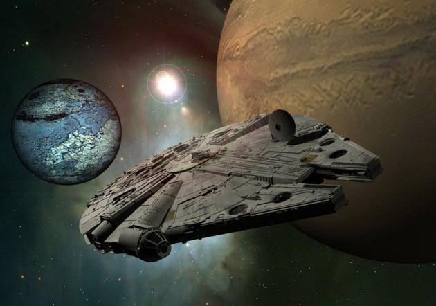 《星球大战》中的经典飞船千年隼号