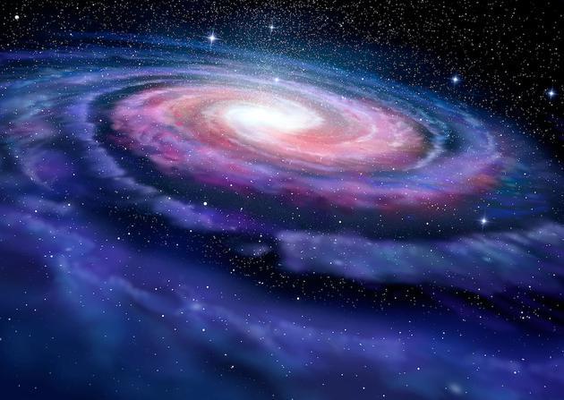 """仙女座星系的质量与银河系的质量相当,意味着在未来的星际碰撞中,不会有明确的大赢家,或许是一场""""平局""""。"""
