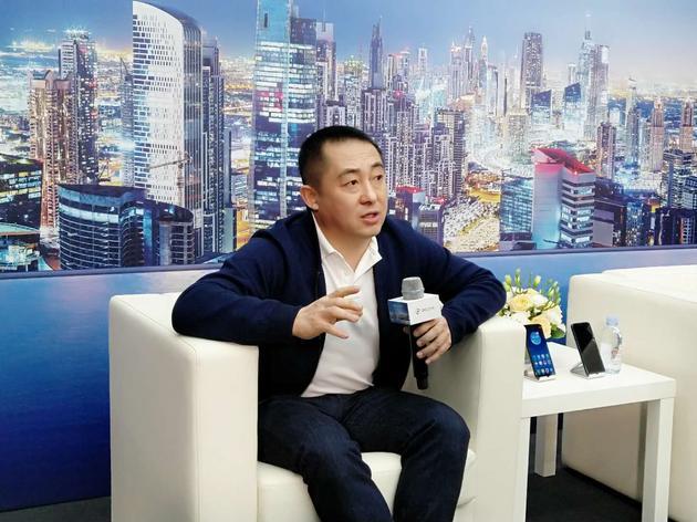 360手机总裁李开新接受采访