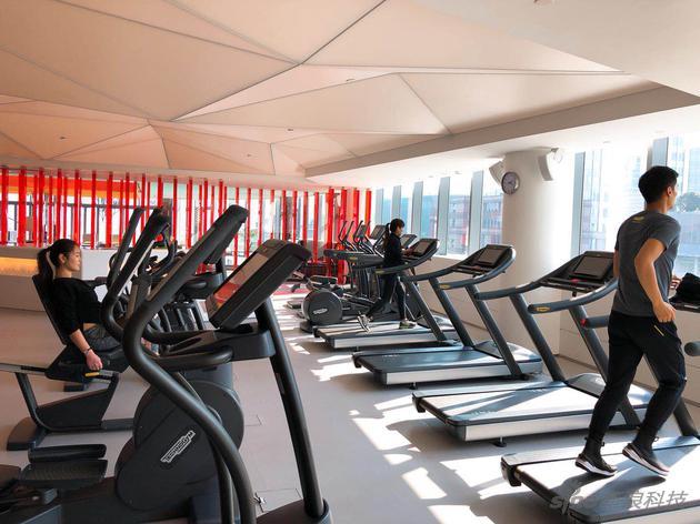 上海W外滩酒店FIT健身中心也布局了GymKits