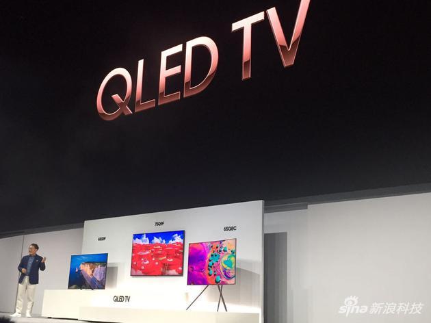三星华尔街发布全系QLED电视
