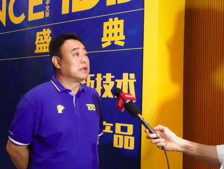 北京科技协作中心副主任李雨楠接受BTV采访