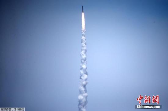 资料图:美军洲际导弹拦截测试。