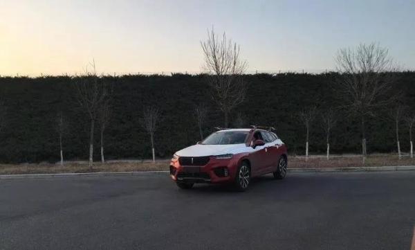 中国移动雄安分公司5G-V2X远程自动驾驶测试车。
