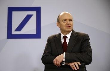 图为德意志银行行长约翰・克莱恩