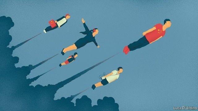 《经济学人》专门写了一篇长文,感叹中国创业者太强大